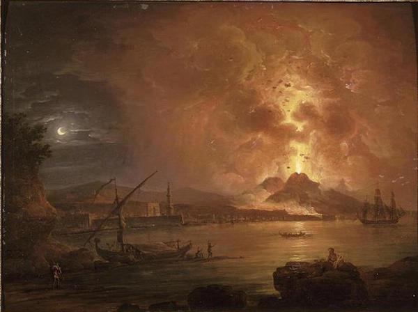 Le Vésuve, décrit par les contemporains du XVIIIe siècle M0629010