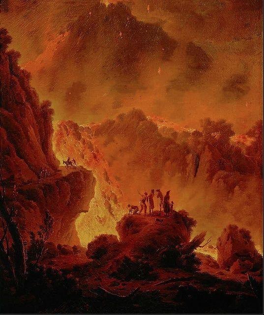 Le Vésuve, décrit par les contemporains du XVIIIe siècle Michae10