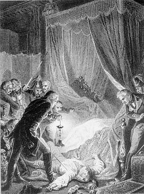 Paul Ier de Russie et son assassinat Murder10