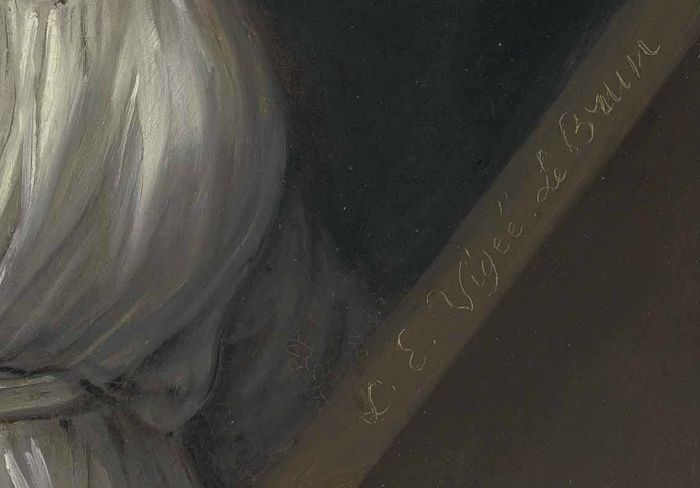 Signature d'Elisabeth Vigée Le Brun Vigee_11