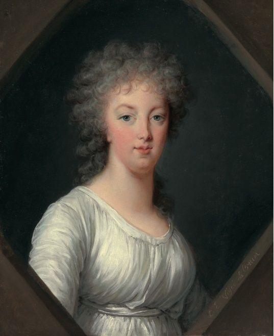 Portraits posthumes de Marie-Antoinette, par Mme Vigée-Lebrun  Vigye_13