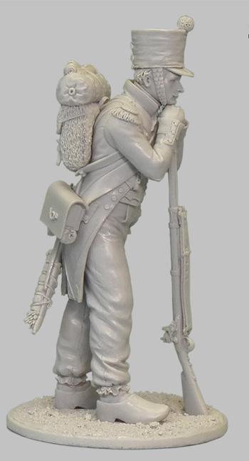 1ère sculpture figurine 1er empire 54mm 102-0212