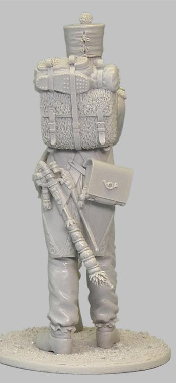 1ère sculpture figurine 1er empire 54mm 102-0312