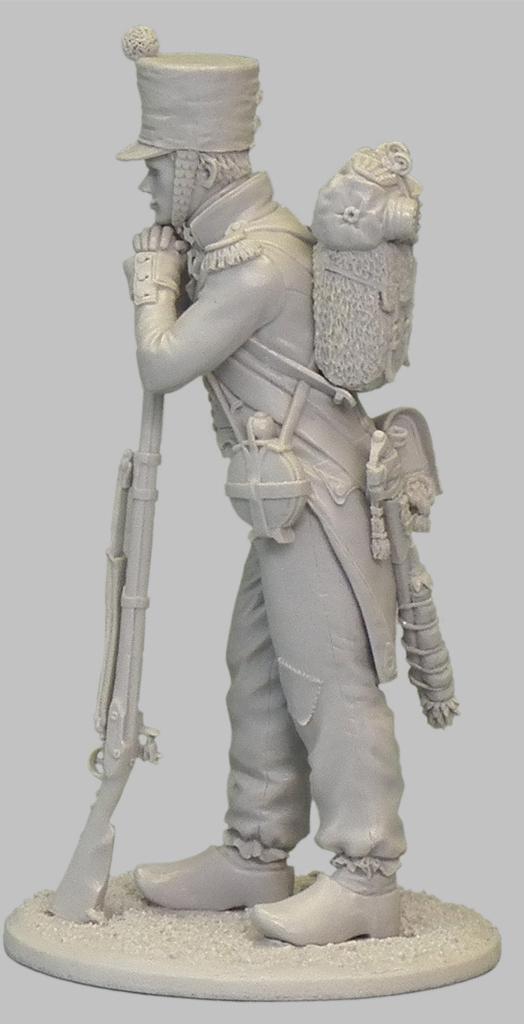 1ère sculpture figurine 1er empire 54mm 102-0412