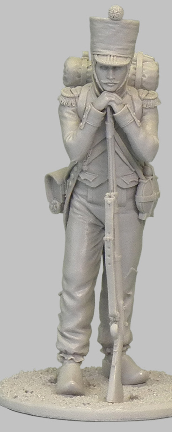 1ère sculpture figurine 1er empire 54mm 102-0612