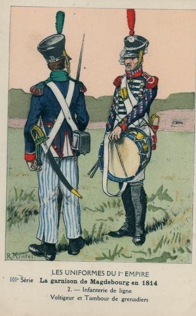 Vitrine Alain 2 Voltigeur de la ligne retour d'Espagne 1814 MM54mm - Page 8 7b773810