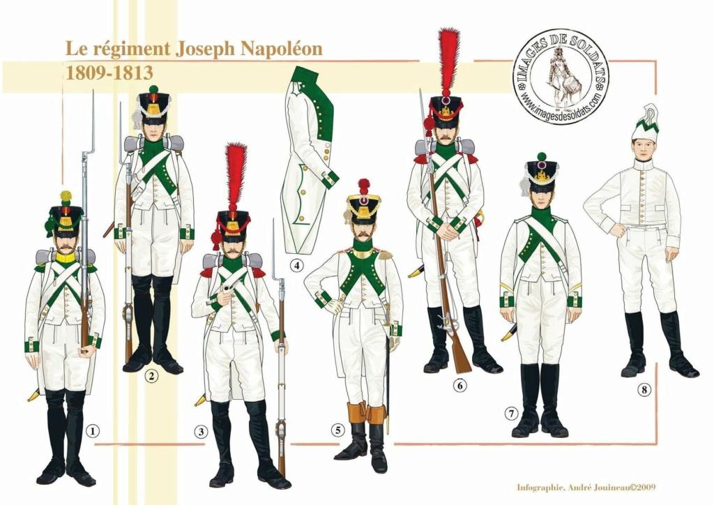 Vitrine Alain 2Régiment Joseph Napoléon .Voltigeur 1809 (Chronos miniatures 54 mm ) - Page 13 9d6a7d10