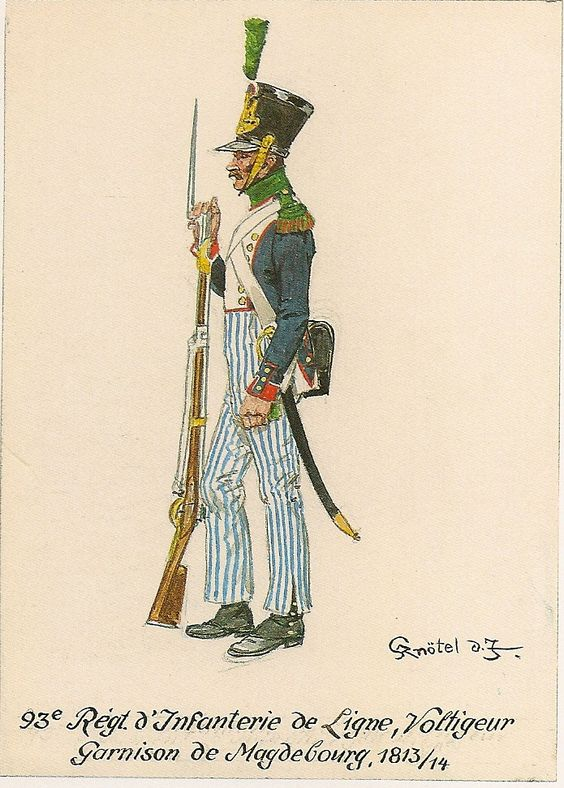 Vitrine Alain 2 Voltigeur de la ligne retour d'Espagne 1814 MM54mm - Page 8 B38cf412