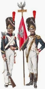 Pologne .Grenadier infanterie de la ligne 1813 .MM54mm transfo C4c09112