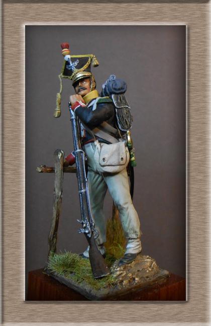 Vitrine Alain 2 Légion Portugaise .Grenadier1808-1814 Chronos Miniatures résine   54mm résin 54 mm ) - Page 7 Dscn1030