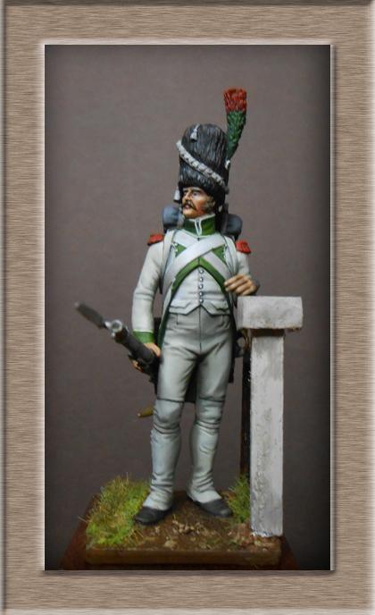 Royaume d'Italie Chasseur-Vélite de la Garde 1810 MM54mm Dscn1035