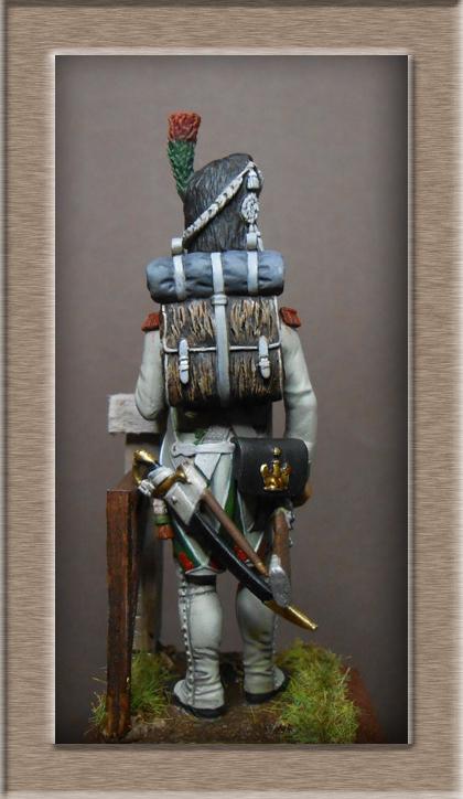 Royaume d'Italie Chasseur-Vélite de la Garde 1810 MM54mm Dscn1115