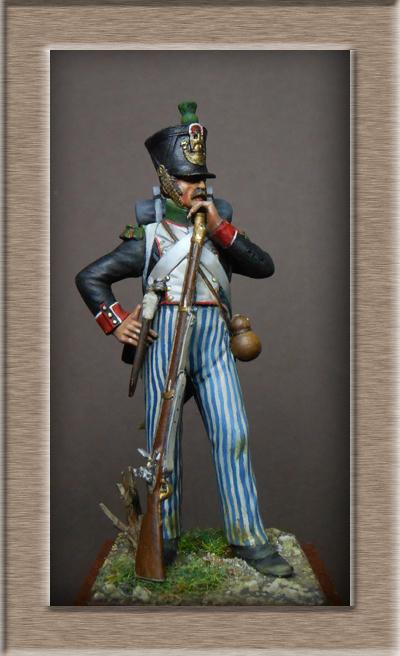 Vitrine Alain 2 Légion Portugaise .Grenadier1808-1814 Chronos Miniatures résine   54mm résin 54 mm ) - Page 7 Dscn1117