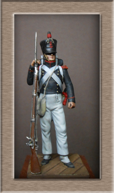 Vitrine Alain 2 Légion Irlandaise Carabinier 1808 SOGA Miniatures 54 mm ) - Page 8 Dscn1210