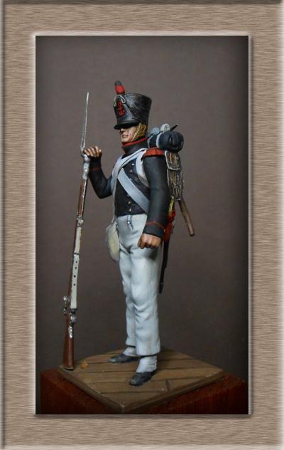 Vitrine Alain 2 Légion Irlandaise Carabinier 1808 SOGA Miniatures 54 mm ) - Page 8 Dscn1211