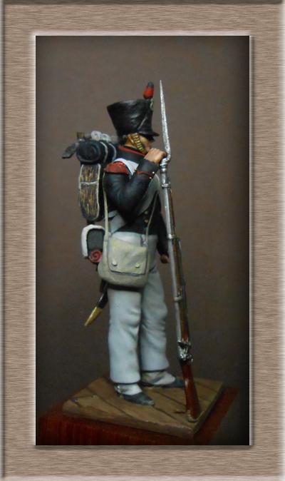 Vitrine Alain 2 Légion Irlandaise Carabinier 1808 SOGA Miniatures 54 mm ) - Page 8 Dscn1212