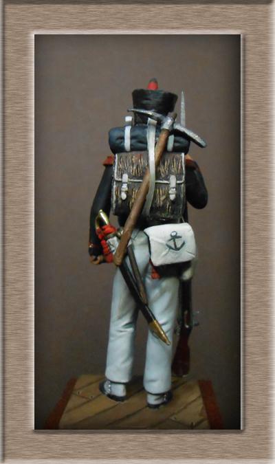 Vitrine Alain 2 Voltigeur de la ligne retour d'Espagne 1814 MM54mm - Page 8 Dscn1213