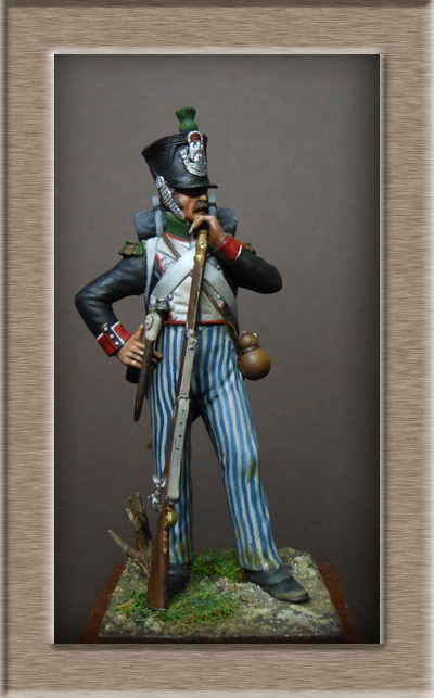Vitrine Alain 2 Légion Irlandaise Carabinier 1808 SOGA Miniatures 54 mm ) - Page 8 Dscn1219