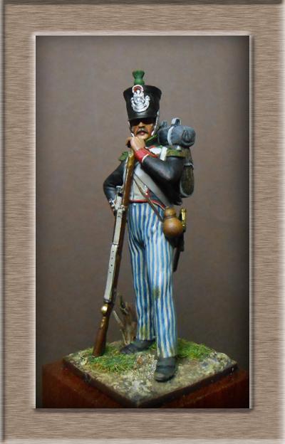 Vitrine Alain 2 Légion Irlandaise Carabinier 1808 SOGA Miniatures 54 mm ) - Page 8 Dscn1220