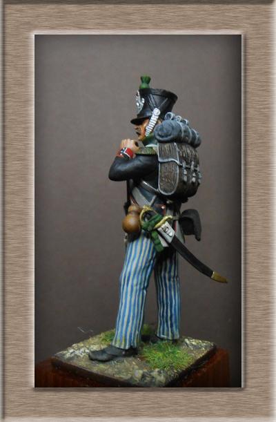 Vitrine Alain 2 Légion Irlandaise Carabinier 1808 SOGA Miniatures 54 mm ) - Page 8 Dscn1221