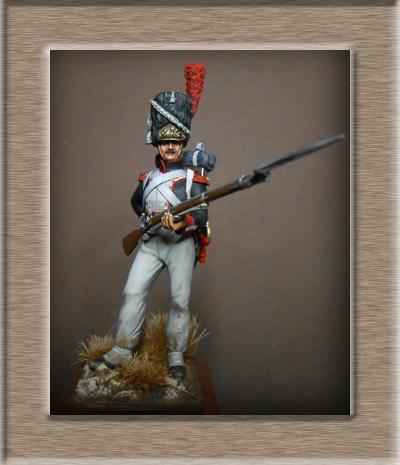 Vitrine Alain 2 Légion Irlandaise Carabinier 1808 SOGA Miniatures 54 mm ) - Page 8 Dscn1511