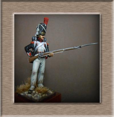 Vitrine Alain 2 Voltigeur de la ligne retour d'Espagne 1814 MM54mm - Page 8 Dscn1512