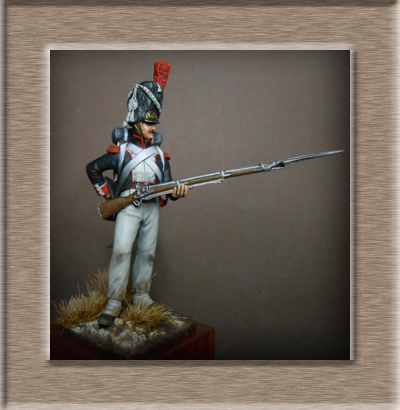 Vitrine Alain 2 Légion Irlandaise Carabinier 1808 SOGA Miniatures 54 mm ) - Page 8 Dscn1512