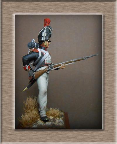 Vitrine Alain 2 Voltigeur de la ligne retour d'Espagne 1814 MM54mm - Page 8 Dscn1513