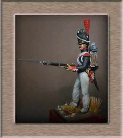 Vitrine Alain 2 Légion Irlandaise Carabinier 1808 SOGA Miniatures 54 mm ) - Page 8 Dscn1514