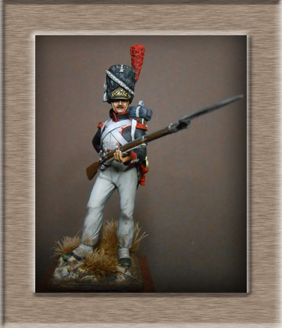 Pologne .Grenadier infanterie de la ligne 1813 .MM54mm transfo Dscn1517