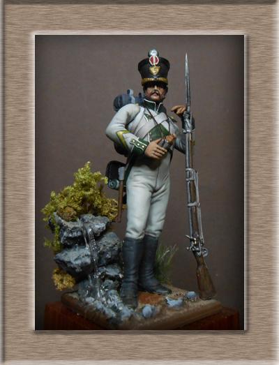 Naples Sergent de Fusilier infanterie de ligne 1813 MM54mm Dscn1529