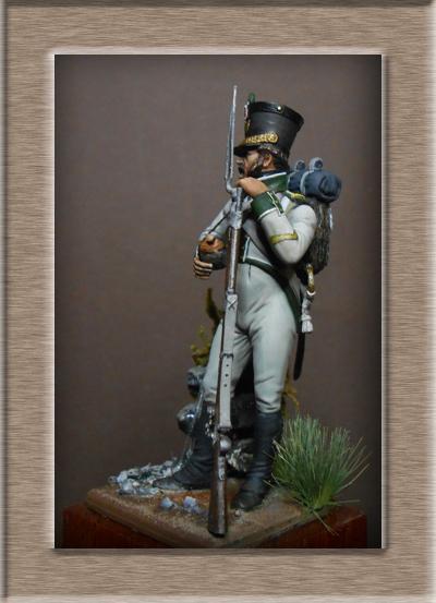 Naples Sergent de Fusilier infanterie de ligne 1813 MM54mm Dscn1530