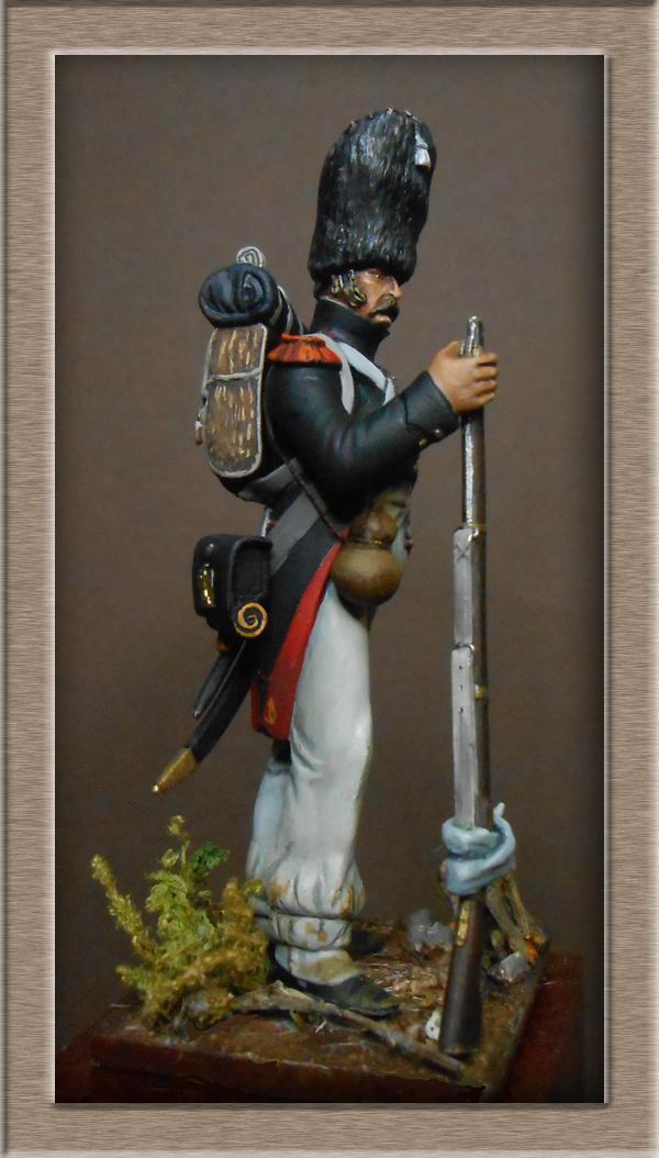 Chasseur à pied de la garde en tenue de route été 1808 MM54 transfo Dscn1918