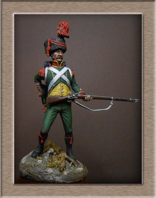 Royaume d'Italie Carabinier du 1er régiment d'infanterie légère 1807 EMI 54mm Dscn2015