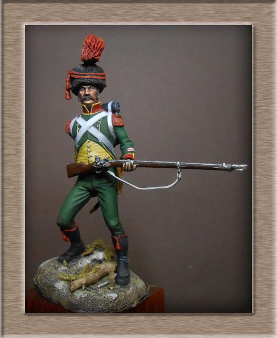 Royaume d'Italie Carabinier du 1er régiment d'infanterie légère 1807 EMI 54mm Dscn2016