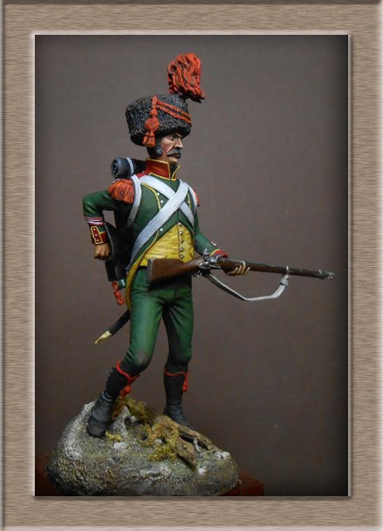 Royaume d'Italie Carabinier du 1er régiment d'infanterie légère 1807 EMI 54mm Dscn2111