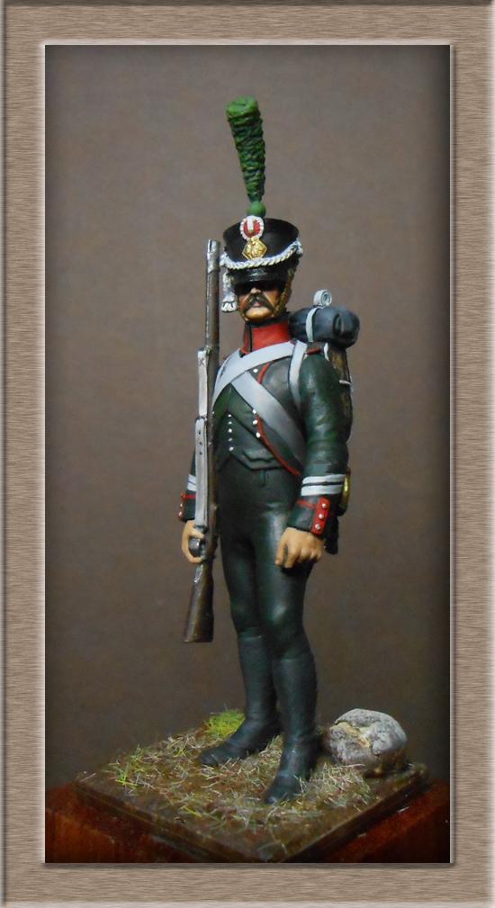 Vitrine Alain 2 mise en peinture sculpture Grenadier en surtout  1807  MM54mm - Page 9 Dscn2410