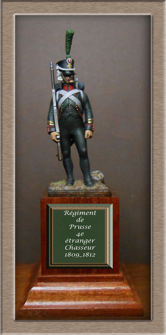 Chasseur du Régiment de Prusse 4e étranger et Grenadier du grand Duché de Clève -Berg  Dscn2421