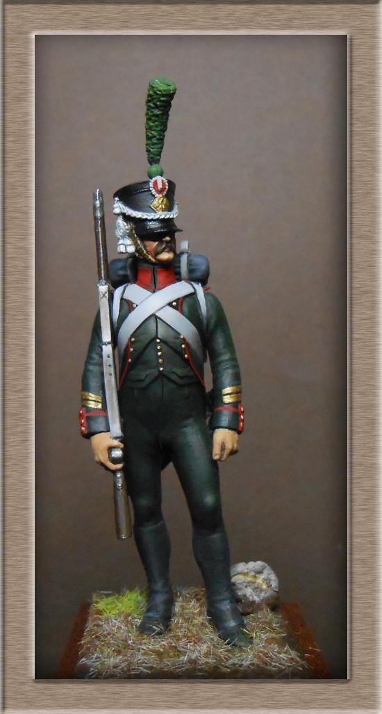 Chasseur du Régiment de Prusse 4e étranger et Grenadier du grand Duché de Clève -Berg  Dscn2422
