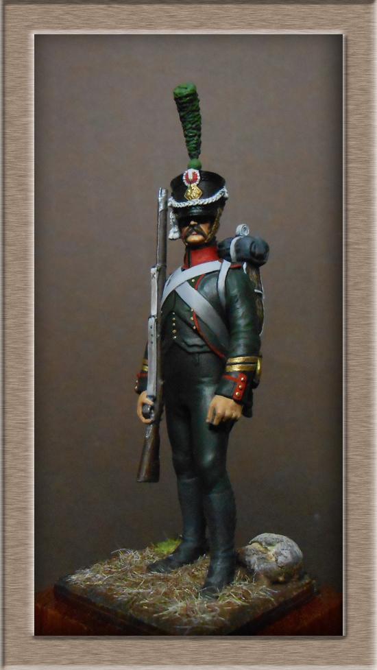 Chasseur du Régiment de Prusse 4e étranger et Grenadier du grand Duché de Clève -Berg  Dscn2424