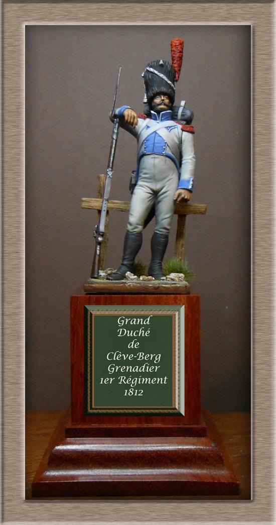 Chasseur du Régiment de Prusse 4e étranger et Grenadier du grand Duché de Clève -Berg  Dscn2426
