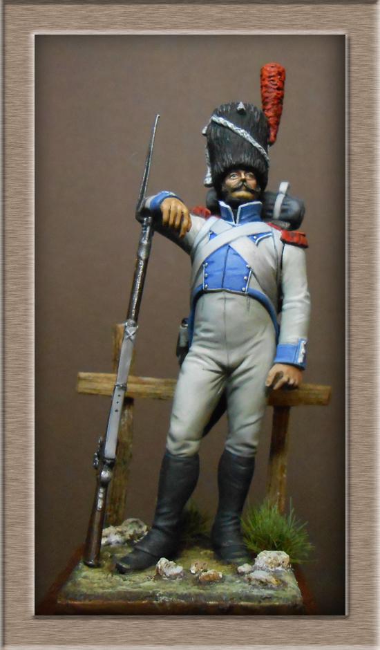 Chasseur du Régiment de Prusse 4e étranger et Grenadier du grand Duché de Clève -Berg  Dscn2427