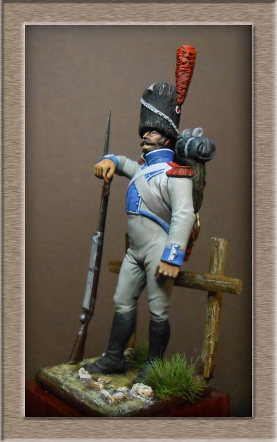 Chasseur du Régiment de Prusse 4e étranger et Grenadier du grand Duché de Clève -Berg  Dscn2429