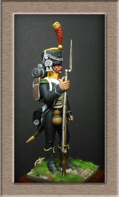 Vitrine Alain 2 Légion Irlandaise Carabinier 1808 SOGA Miniatures 54 mm ) - Page 10 Dscn3913