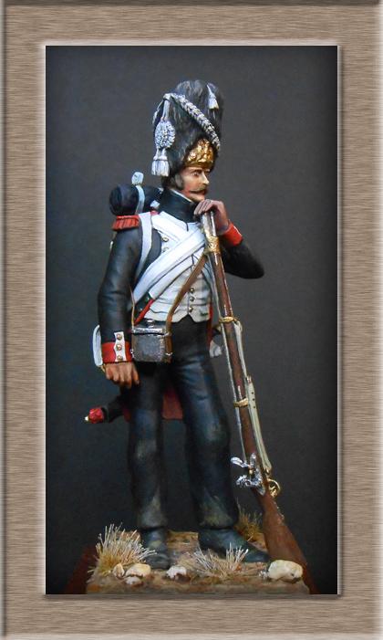 Vitrine Alain 2  Cavalerie légère   Hussard du 14e régiment 1814 MM54mm - Page 11 Dscn3927