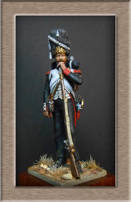 Vitrine Alain 2  Cavalerie légère   Hussard du 14e régiment 1814 MM54mm - Page 11 Dscn3928