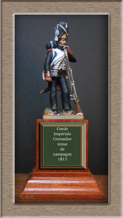 Grenadier de la Garde en tenue de campagne 1813 MM54mm Dscn3930