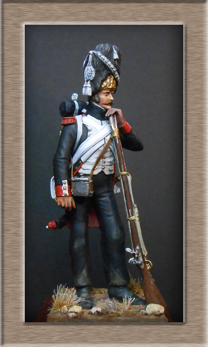 Grenadier de la Garde en tenue de campagne 1813 MM54mm Dscn3931
