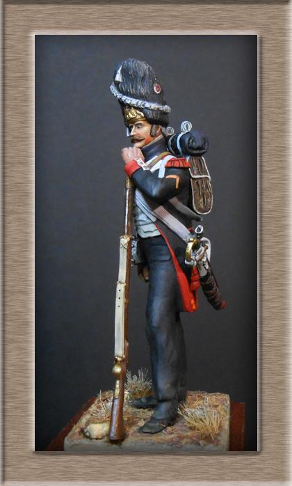 Vitrine Alain 2  Cavalerie légère   Hussard du 14e régiment 1814 MM54mm - Page 11 Dscn4014