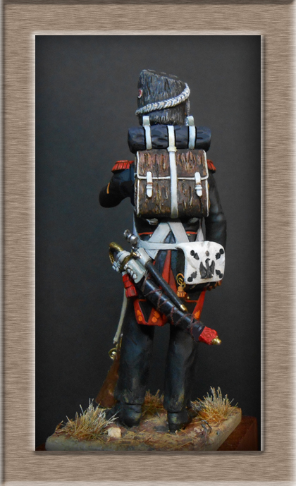 Grenadier de la Garde en tenue de campagne 1813 MM54mm Dscn4016